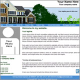 Real Estate Agent Website Template