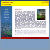 Real Estate Broker Website Template